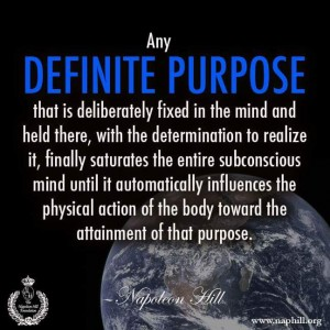 definite purpose